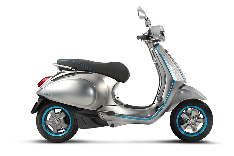 Elettrica scooter Vespa