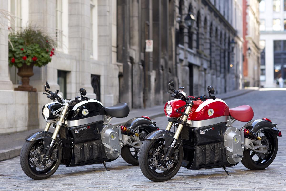 Lito Sora motocyclette electrique
